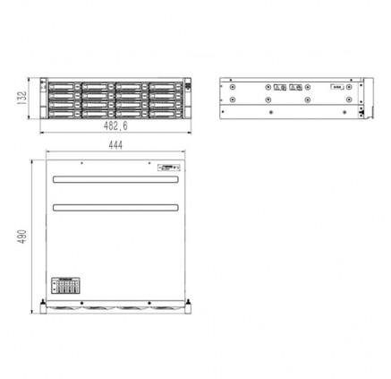 Видеорегистратор-IP TIANDY TC-R31680 E/B/N(TC-R31680 E/B/N) фото 3